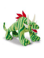 Maskotka Dinozaur zielony 22 cm