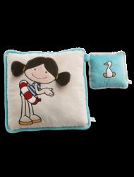 Podwójna poduszka Minilotta i Kaczka