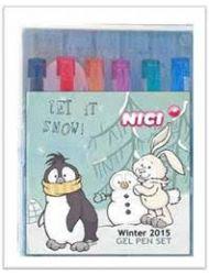 Żelopisy Pingwin&Królik Śnieżny