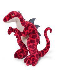 Maskotka Dinozaur czerwony 40 cm