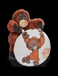 WF21 Poduszka na krzeszło z Orangutanem