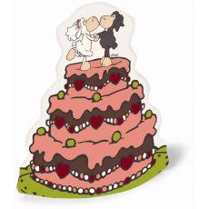 Skarbonka Tort weselny