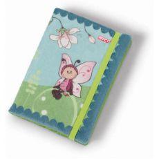 Notes pluszowy Motylek