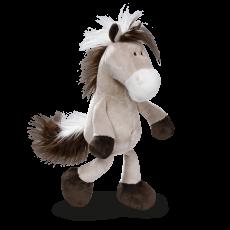 Maskotka Koń szaro-beżowy 35 cm