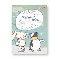 Książka do kolorowania Pingwin Jori
