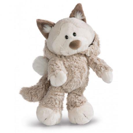 Maskotka Kot Śnieżny 20 cm
