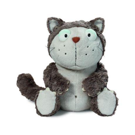 Maskotka Kot szary 15 cm