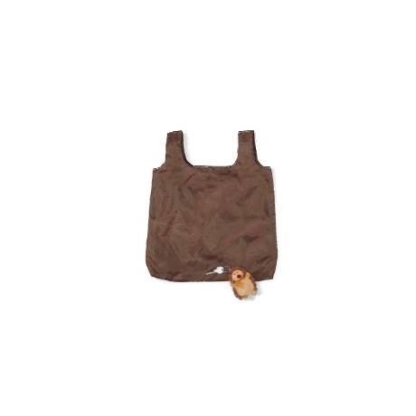 Brelok Goryl z torbą w brzuszku