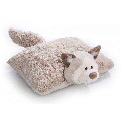 Poduszka rozkładana Kot Śnieżny