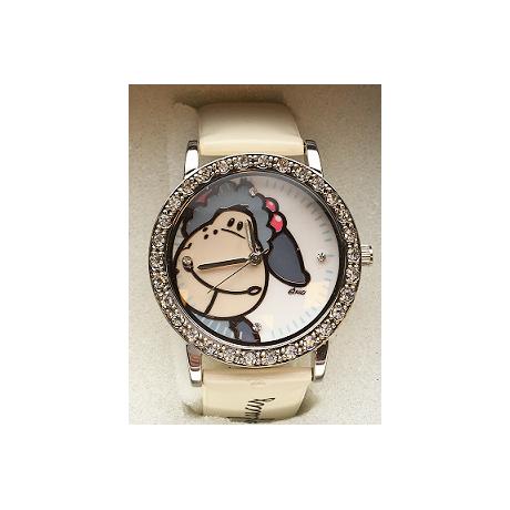 Zegarek na rękę Jolly Lucy kremowy