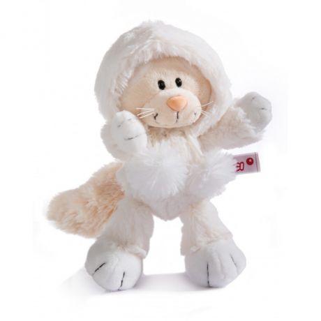 Maskotka Kotka Śnieżna 35 cm