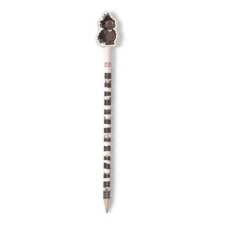 Ołówek z gumką Jeżozwierz