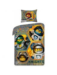 Pościel Lego Nexo Knight 140x200 cm