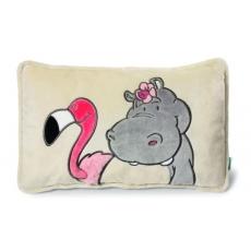 Poduszka z wizerunkiem Hipcia i Flaminga