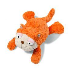 Maskotka Kot pomarańczowy 30 cm leżący