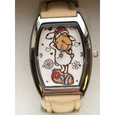 Zegarek na rękę Jolly Liselle beżowy