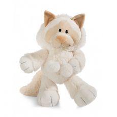 Maskotka Kotka Śnieżna 50 cm