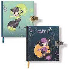 Pamiętniki na kłódkę Ayumi Faith i Joy dwa w zestawie.