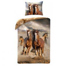 Pościel Koń brązowy 140x200 cm