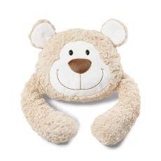 Poduszka - przytulanka Miś beżowy