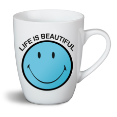 "Kubek ""Life is beautiful"" Smiley"