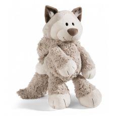 Maskotka Kot Śnieżny 75 cm