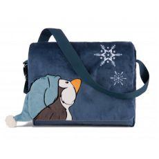 Torba na ramię pingwin plusz Zima 2018