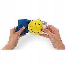 Brelok Smiley 8cm z torbą na zakupy