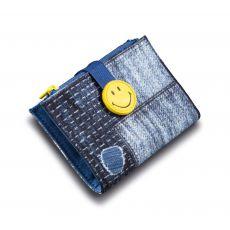 Portfel Smiley łaty