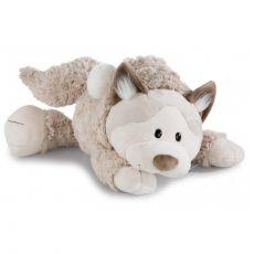 Maskotka Kot Śnieżny leżący 50 cm
