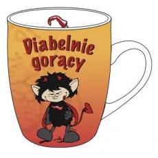 """Kubek """"DIABELNIE GORĄCY"""""""