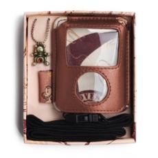 WF11 Etui na iPod brązowe
