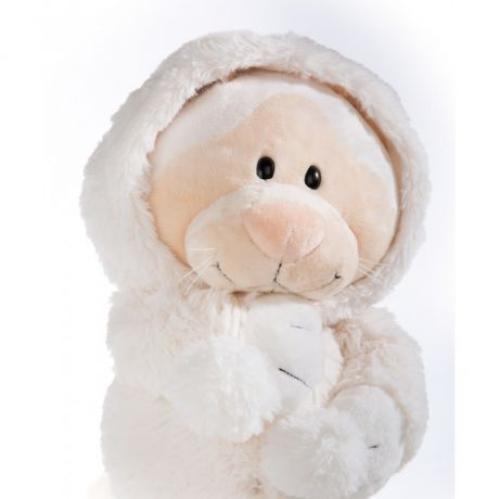 Maskotka Kotka Śnieżna 75 cm