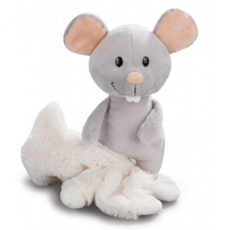 Mysz szara z ubrankiem Kota