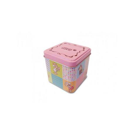 Zegarek na rękę Jolly Candy brązowo-różowy